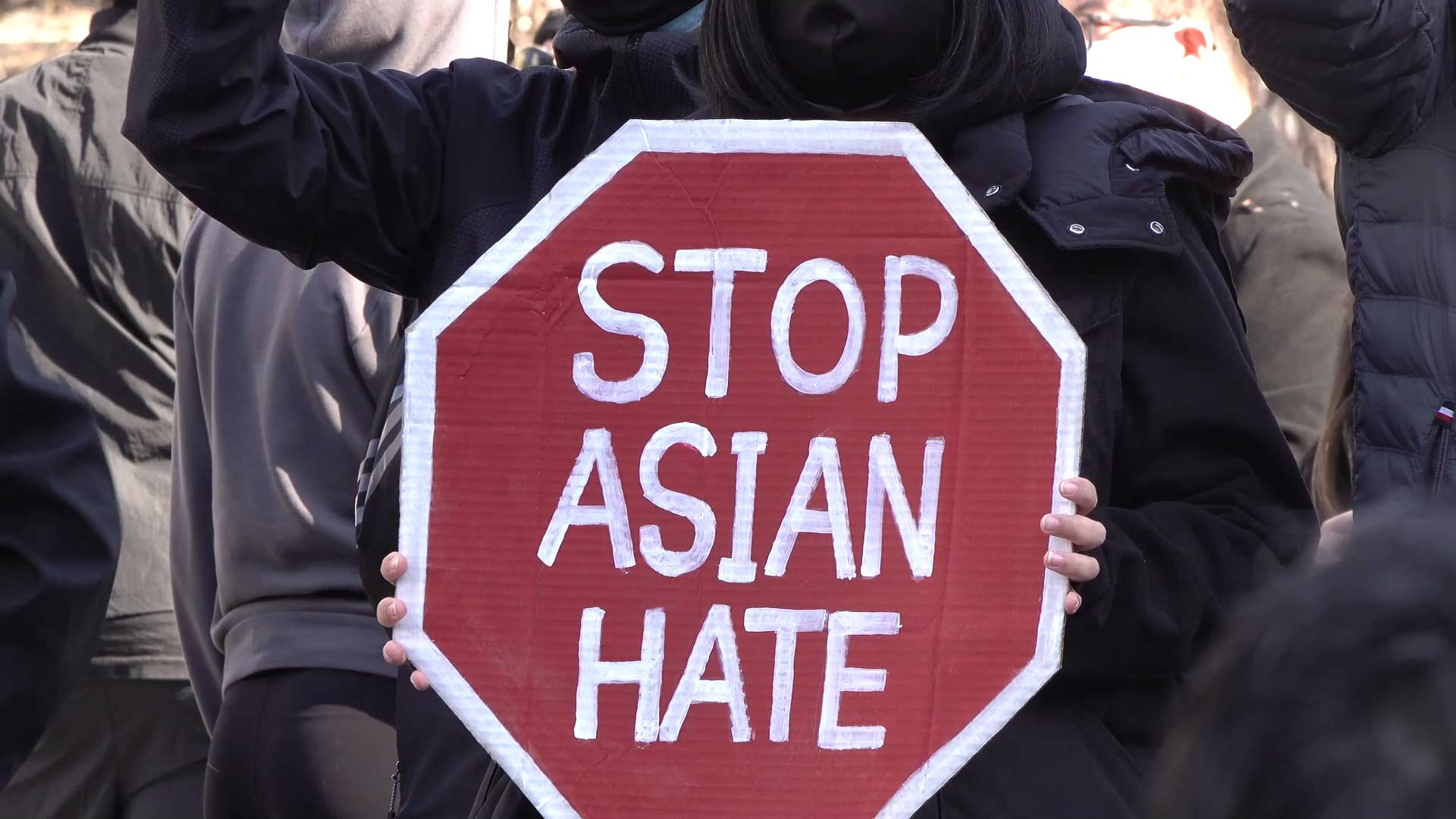 What put Asian Americans in worrying human rights conditions?