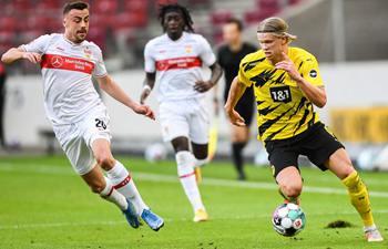 Dortmund bounce back to beat Stuttgart 3-2 in Bundesliga