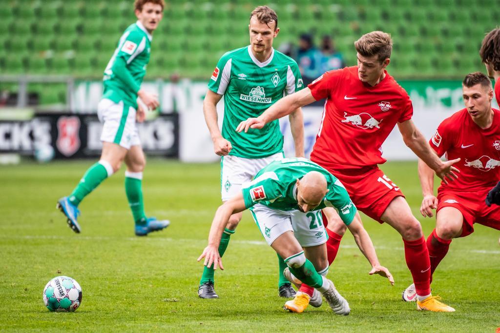 German Bundesliga match: SV Werder Bremen vs. RB Leipzig