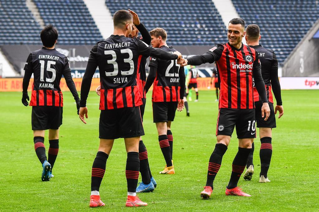 German Bundesliga match: Eintracht Frankfurt vs. VfL Wolfsburg