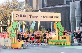 Participants seen during ASB Christchurch Marathon