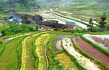 Spring farming underway across China