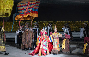 """Opera """"Princess Wencheng"""" staged in Lhasa"""