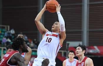 CBA roundup: Guangdong's winning streak ended by Zhejiang