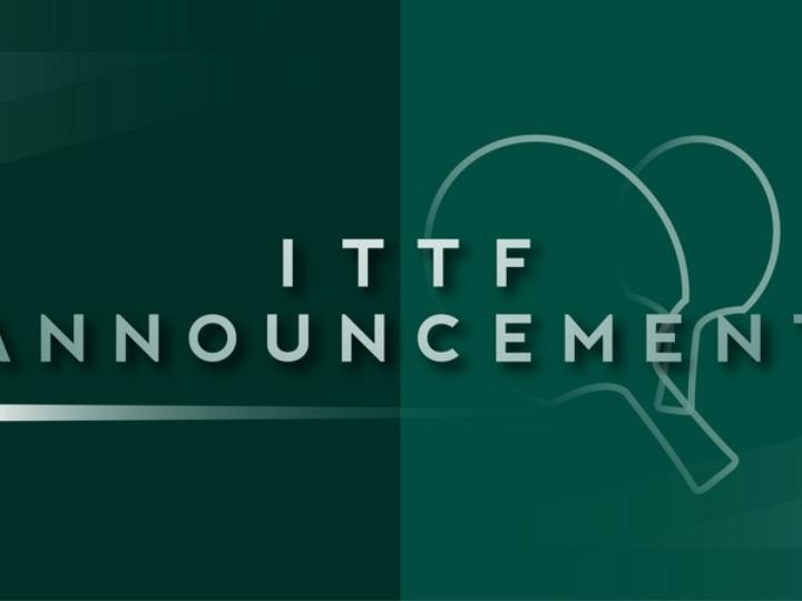 World Table Tennis Championships confirmed for Houston in November