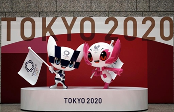 Tokyo marks 100 days to postponed Olympic Games
