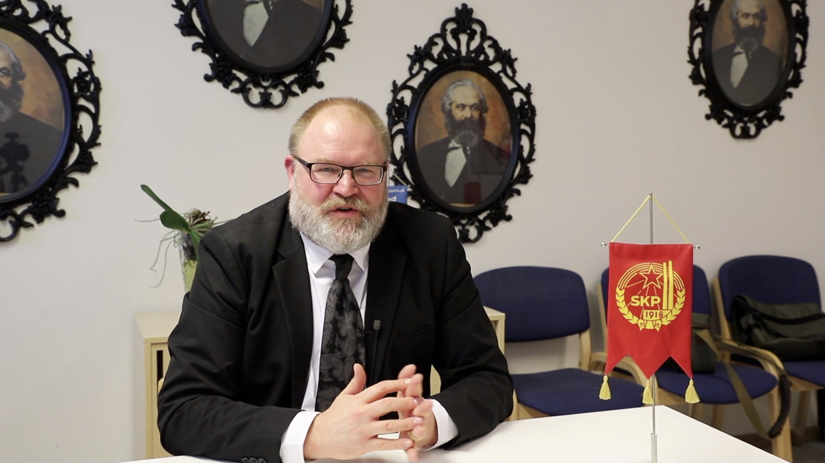 Interview: Facing changes, CPC always full of enthusiasm, motivation -- Finnish party chief