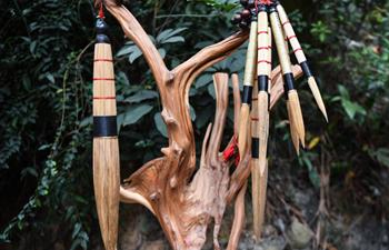 In pics: national intangible cultural heritage Baisha Maolong brush in Guangdong