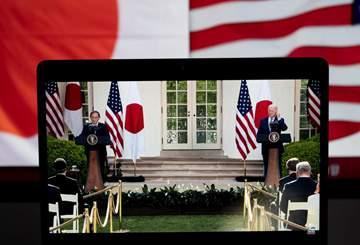 U.S., Japan pledge to work together to address challenges