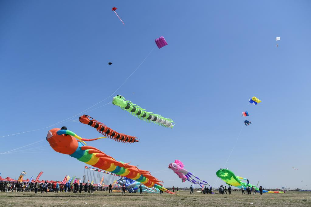 In pics: 38th Weifang Int'l Kite Festival