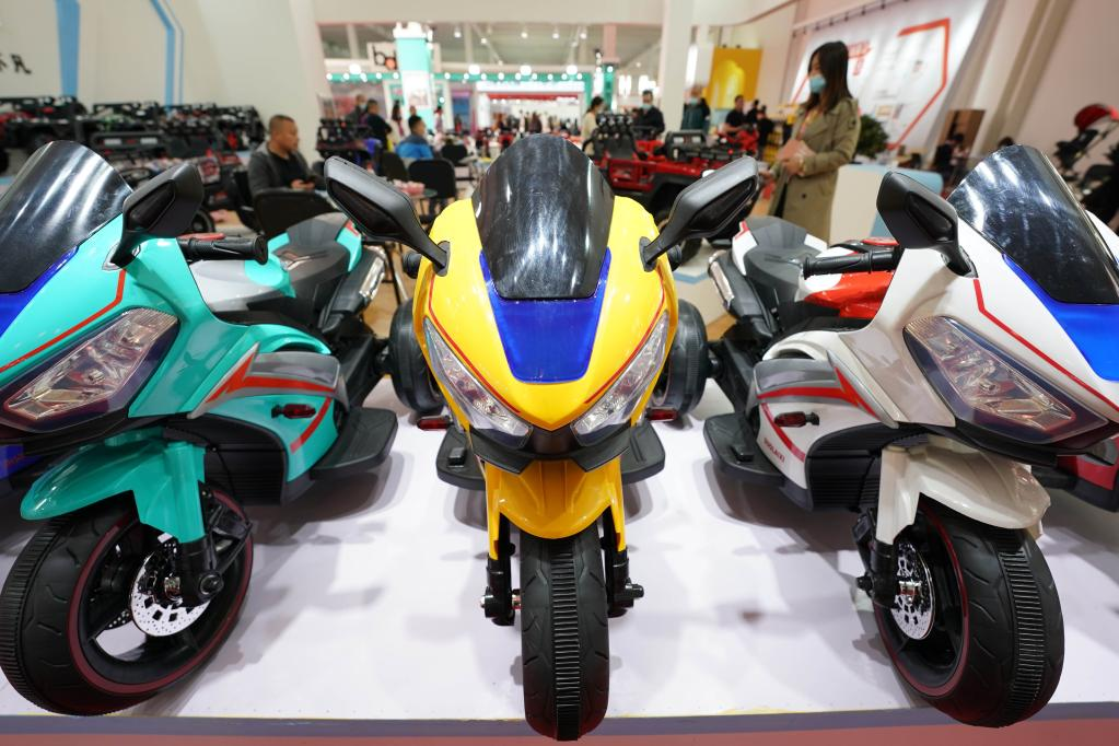 Int'l Bicycles, Baby Strollers and Toys Fair held in Hebei
