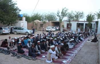 People prepare food for Iftar in Afghanistan