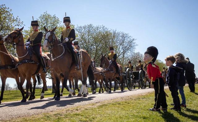 Prince Philip's funeral held in Windsor
