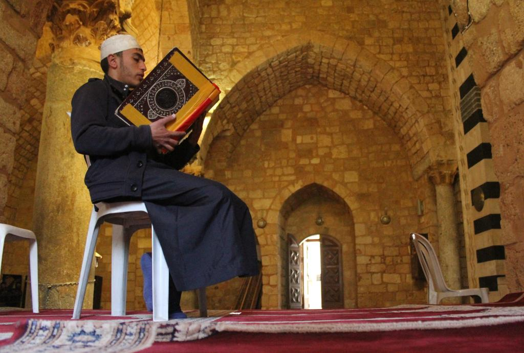 In pics: Taynal Mosque during Islamic holy month of Ramadan in Tripoli