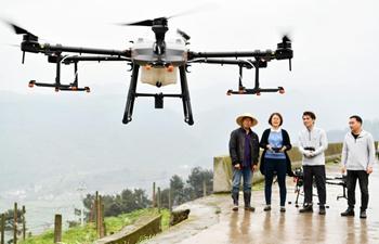 Plant-protection drones make pest control more efficient