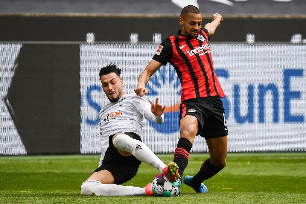 German Bundesliga match: Borussia Moenchengladbach vs. Eintracht Frankfurt