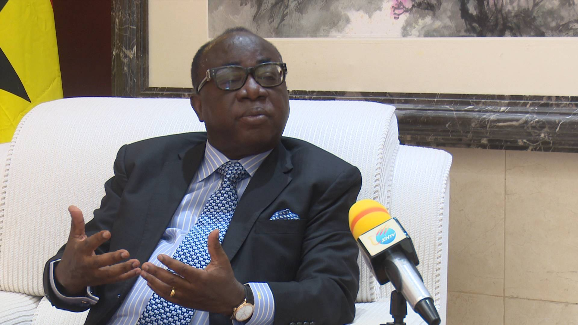 GLOBALink | China shares, so it's beautiful : Ghana's ruling party national chairman