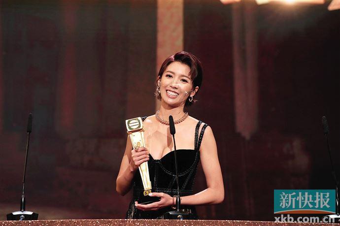 蔡思贝凭借《踩过界II》爆冷夺TVB最佳女主角