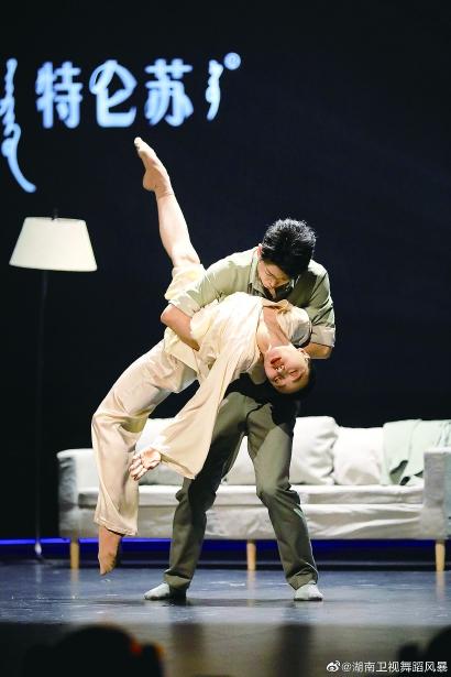 未来的风景牵着女儿的手看 ——访《舞蹈风暴2》总冠军谢欣