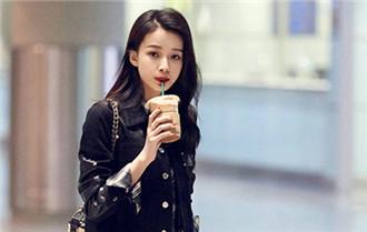 孫怡最新機場街拍曝光 拼接襯衫酷勁十足