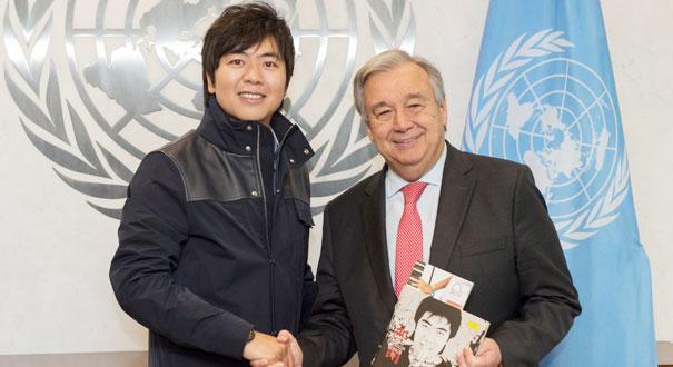 """聯合國""""和平使者""""郎朗接受新任務迎接新挑戰"""