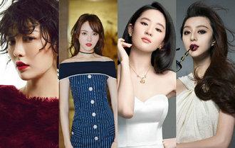 吕佳容唐嫣刘亦菲范冰冰 娱乐圈戴假发成瘾的女星