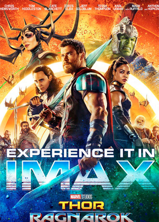 《雷神3》曝IMAX海報