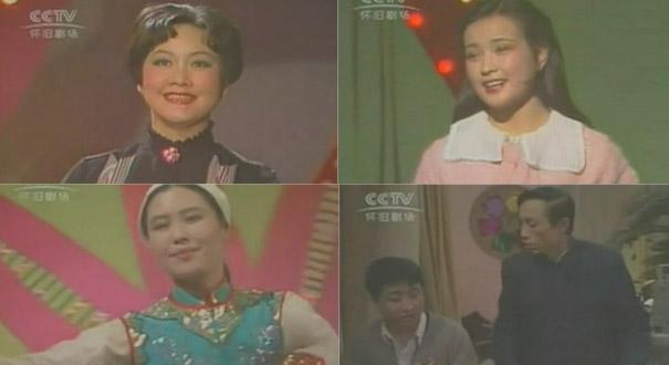 1983首屆春晚 李谷一一人唱九首