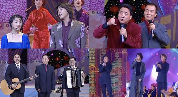 """2002春晚 周迅陸毅合唱""""精彩"""""""