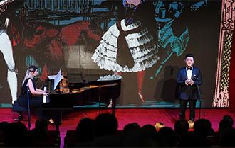 中国-白俄罗斯友好音乐会在布鲁塞尔举行