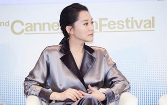 許晴出席中歐女性影展論壇:女性視角會貢獻佳作