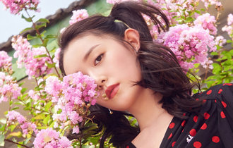 """蔣依依""""夏日美少女""""時尚大片 自由隨性"""