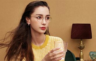 Angelababy封面大片 變摩登文藝女孩