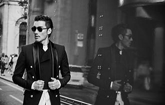 胡兵出席倫敦時裝周 展現紳士魅力