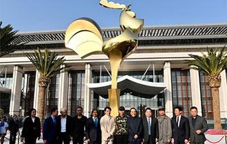 第28屆金雞百花電影節金雞雕塑揭幕儀式