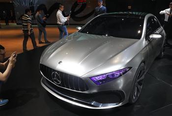 上海車展:奔馳A級概念車全球首發