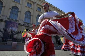 布加勒斯特舉辦國際民俗節