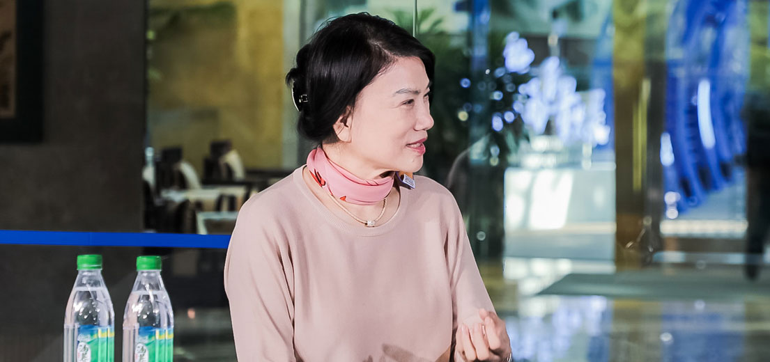 格力電器董事長、總裁,著名企業家董明珠做客2019中國企業家博鰲論壇演播間