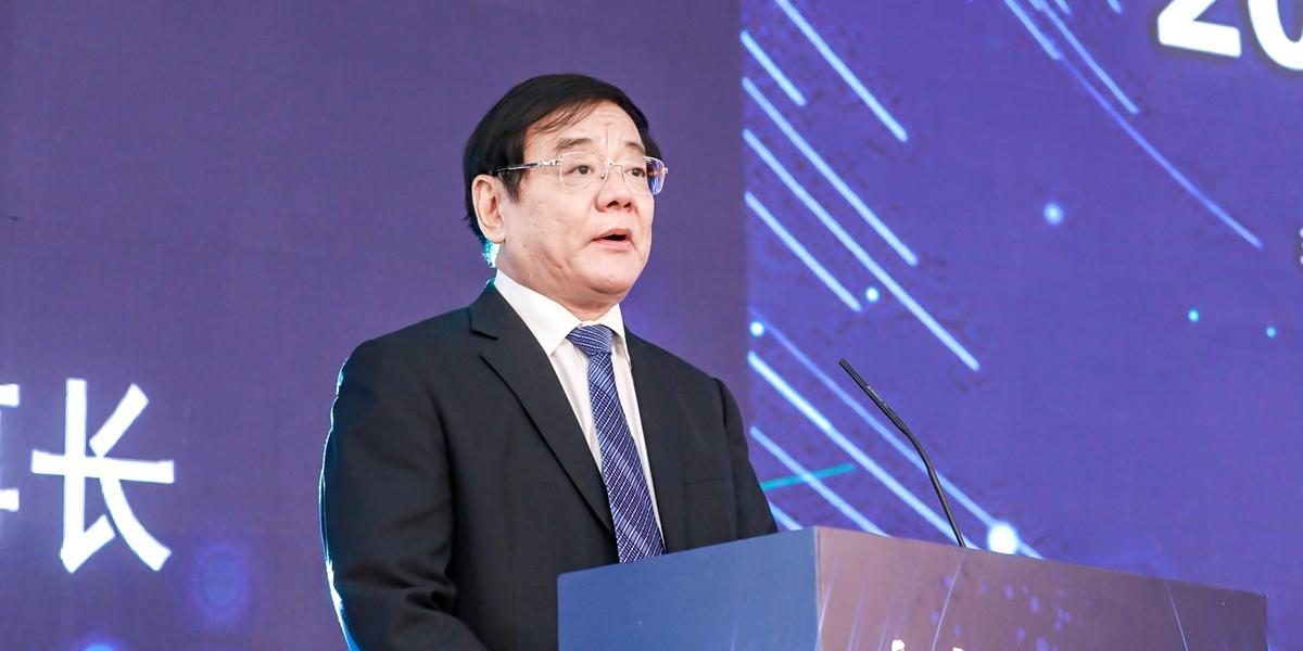 中國品牌建設促進會理事長劉平均致辭