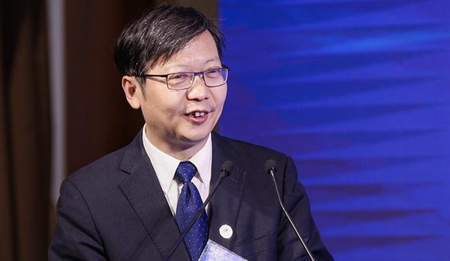 新華網副總裁楊慶兵發表致辭