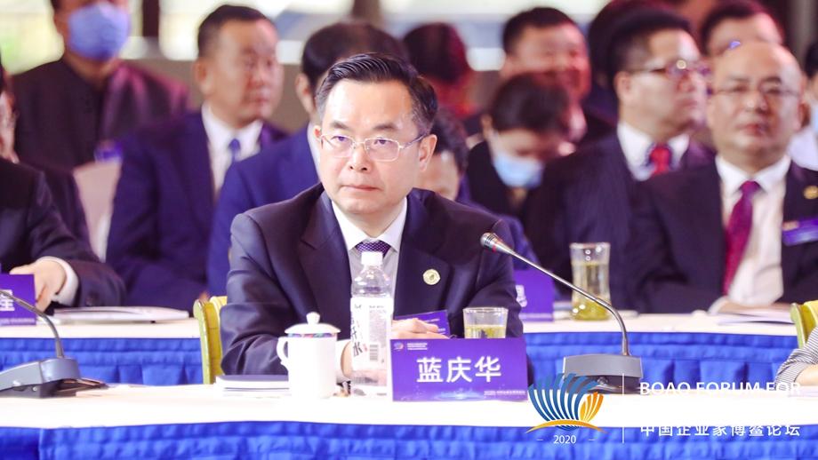 藍慶華:重慶將為民族品牌工程入選企業制定創新創業基金