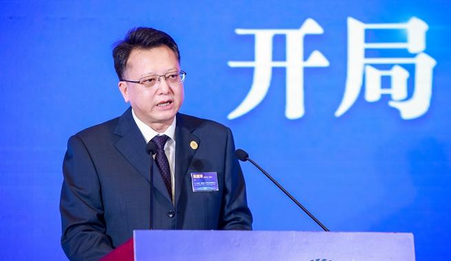 上海證券報社黨委書記、董事長陳國軍致辭
