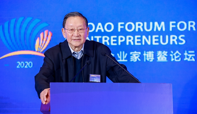 中國科學院院士,國際歐亞科學院院士,中國地源熱泵産業聯盟名譽理事長汪集暘演講