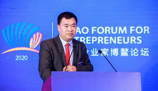 北京永聚河環保科技有限公司董事長馮強演講