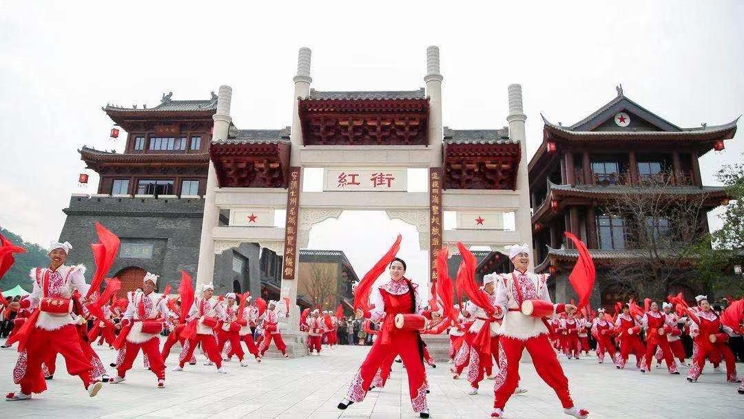 延安紅街開業:展現紅色主題 匯聚豐富業態