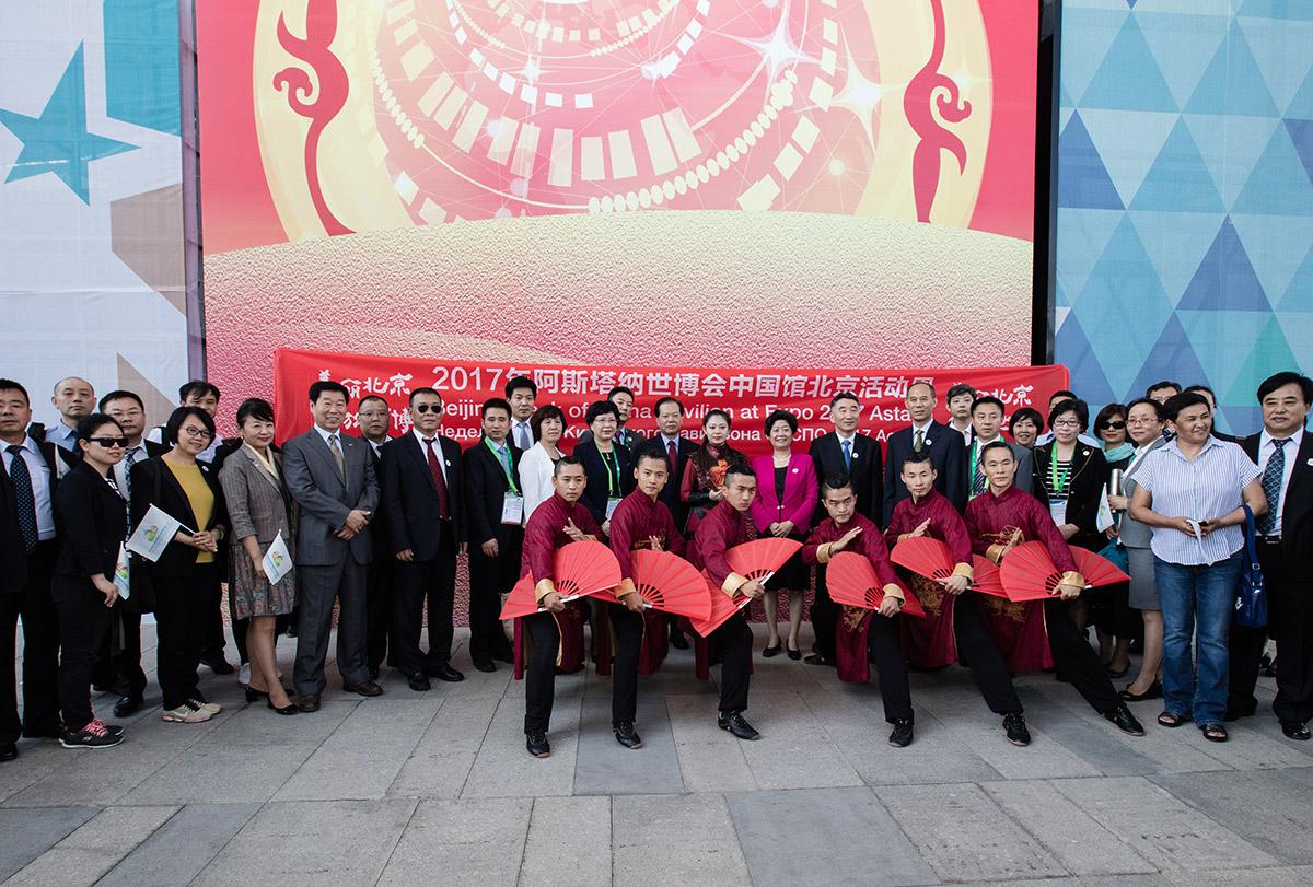 阿斯塔納世博會北京周活動圖集