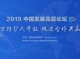 2019中國發展高層論壇