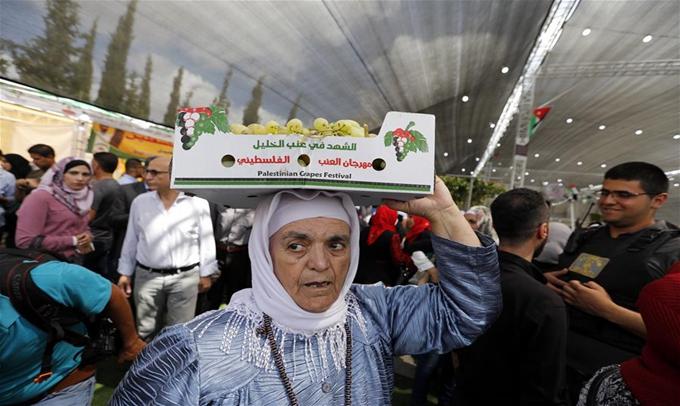 巴勒斯坦葡萄節開幕