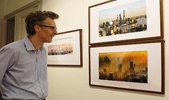 上海改革開放成就圖片展在比利時舉行