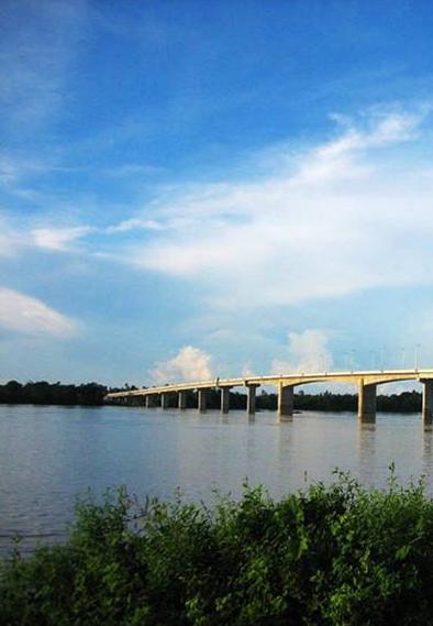 第七座柬中友谊大桥正式通车